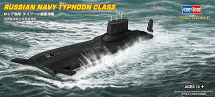 Russian Navy Typhoon class Submarine Hobby Boss