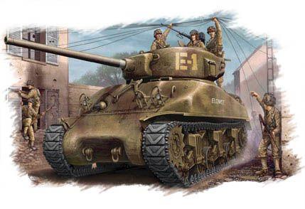 US M4A1 76 Tank Hobby Boss
