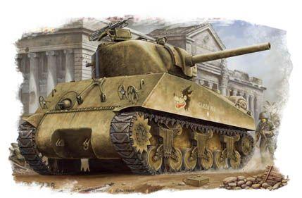 US M4A3 Tank