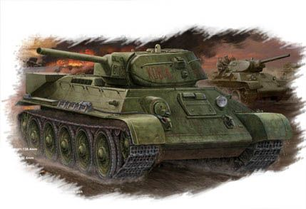 T-34/76 (model 1942 Factory No.112) Tank Hobby Boss