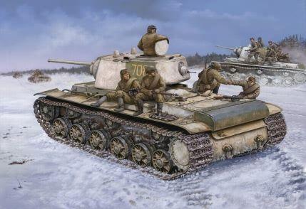 KV-1 1942 Heavy Část Turret Hobby Boss