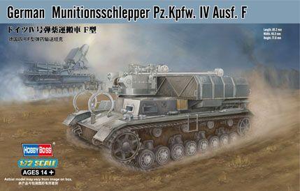 Munition Schlepper Pz.Kpfw. IV Ausf. F Hobby Boss